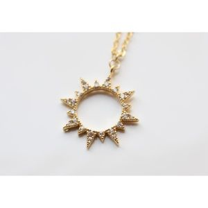 Helios Gold Necklace
